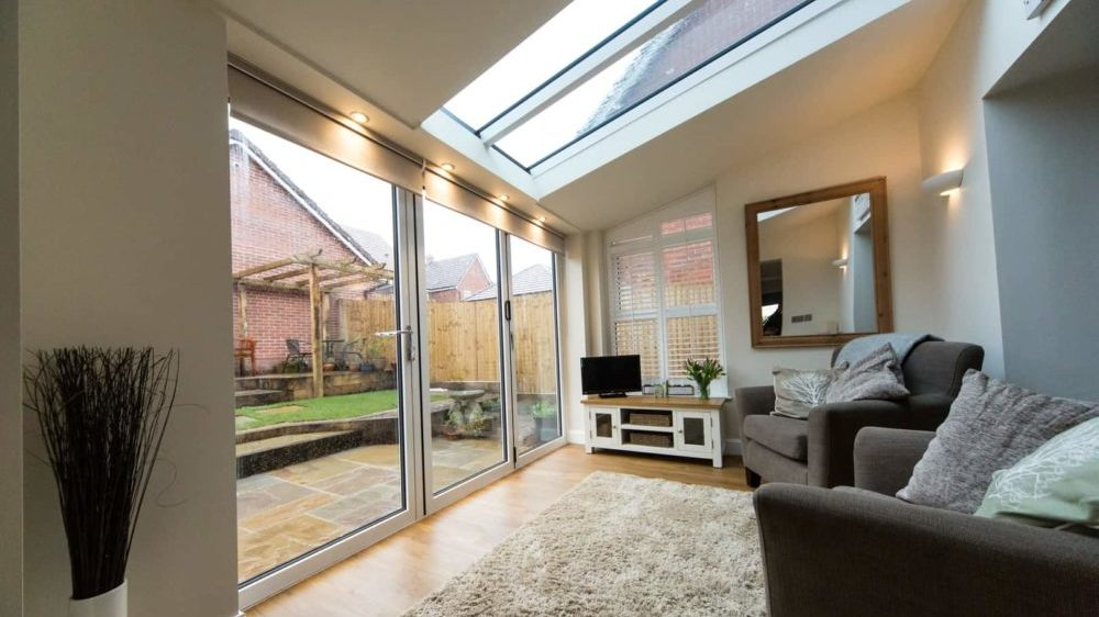 replacing old conservatory